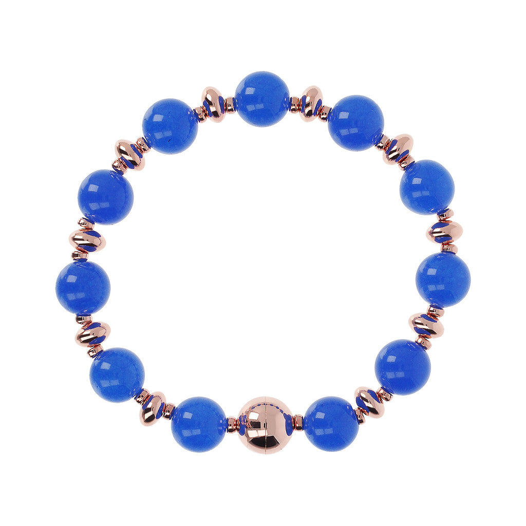 Colorful Bracelet BLUE LACE AGATE