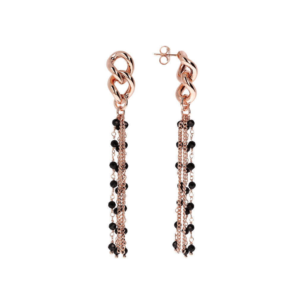 Dangling Earrings Long Multiline front and side