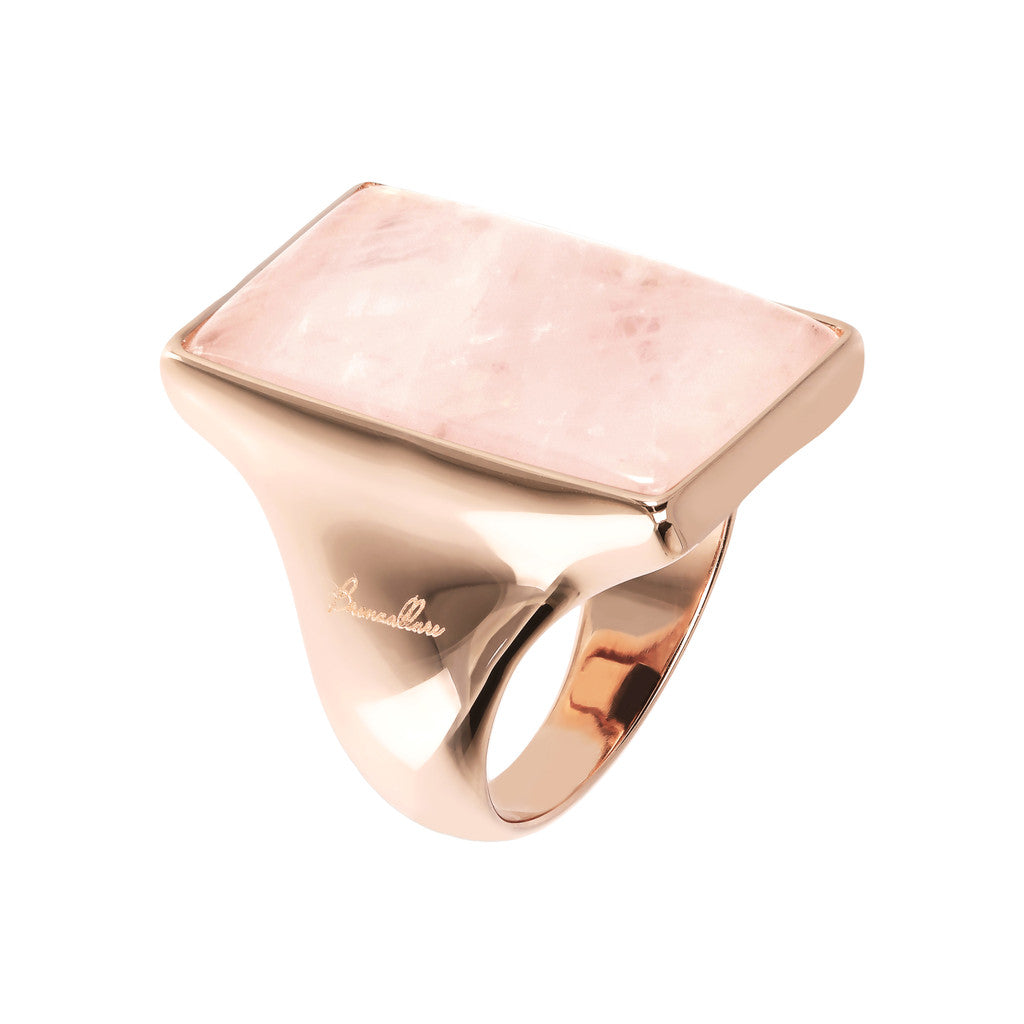 Decò Ring ROSE QUARTZ