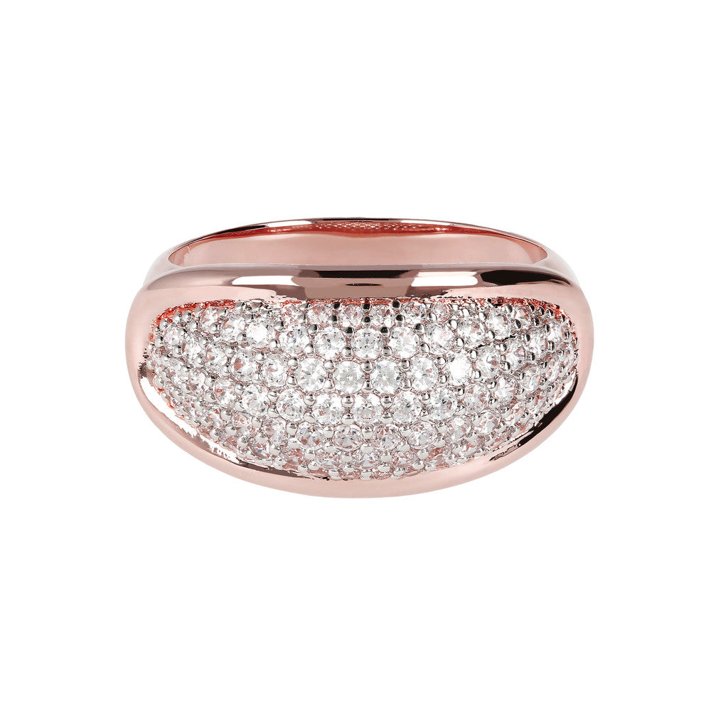 Bronzallure | Rings | Domed Pave Ring