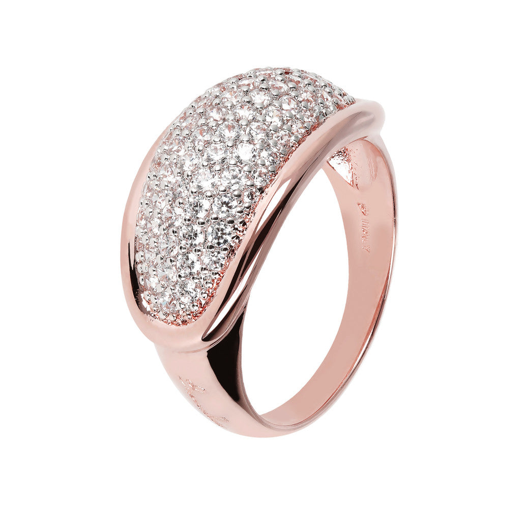 Domed Pave Ring