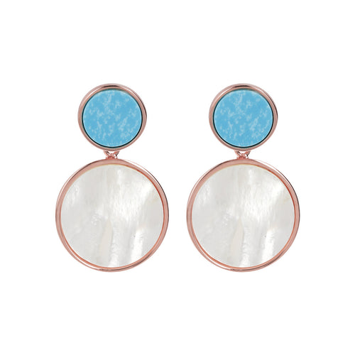 Double Disc Earrings
