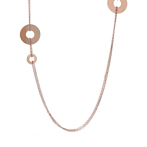 Double Necklace with Circles