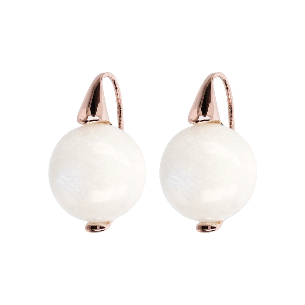 Elegance Earrings WHITE MOONSTONE
