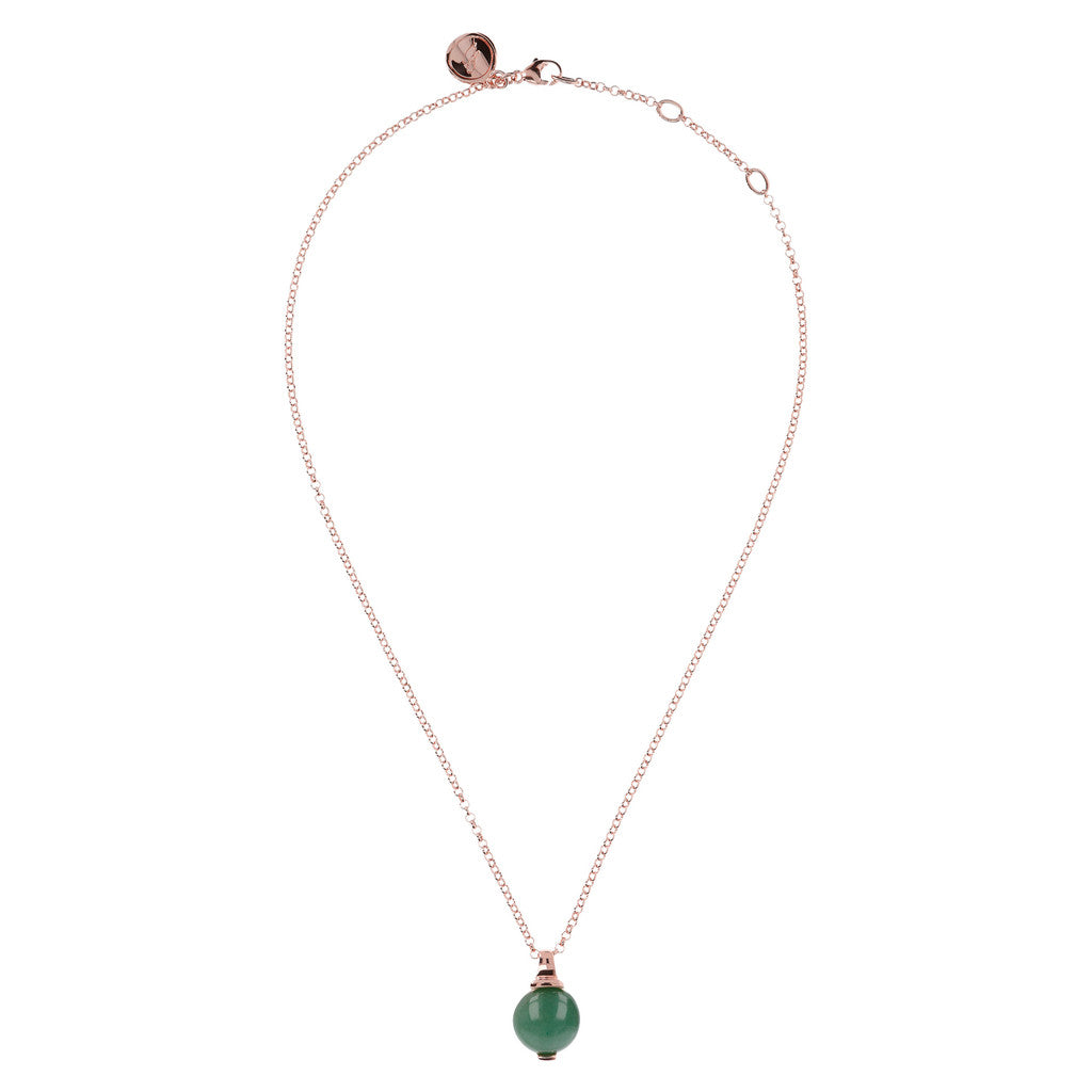 Elegance Necklace AVENTURINE from above