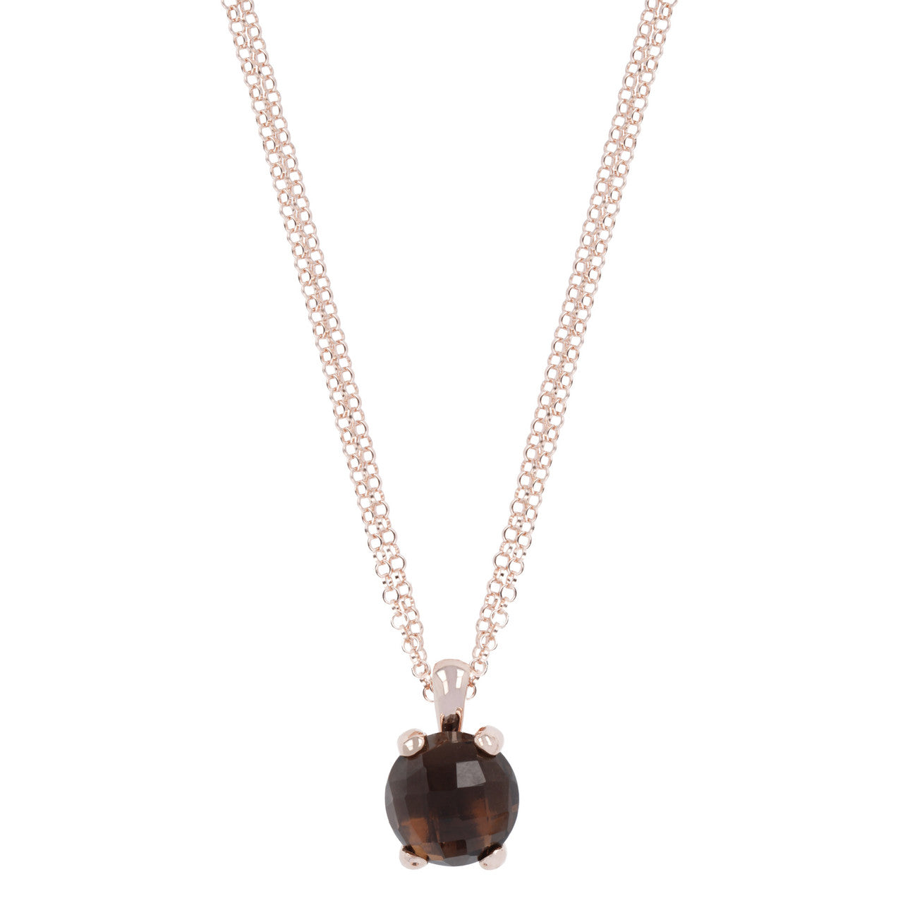 Essential Gemstone Pendant SMOKY QUARTZ
