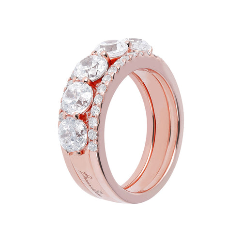 Eternity and Solitaire Ring Set