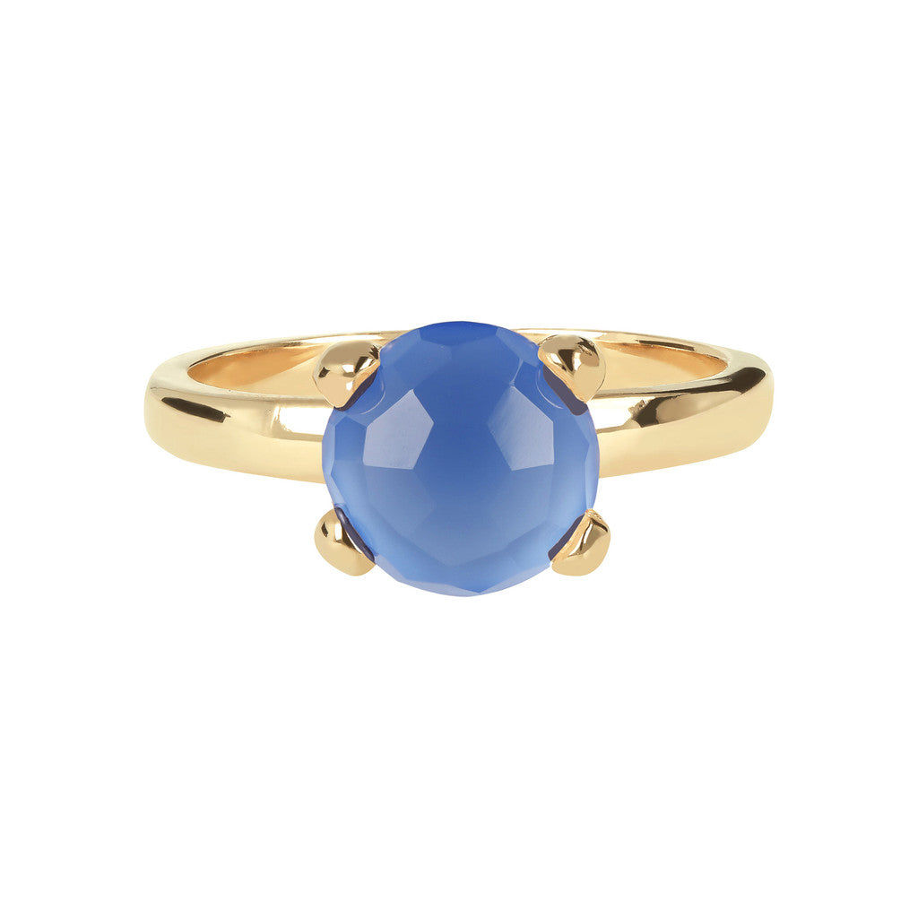 FELICIA BRONZALLURE GOLDEN   BRIOLe' FACETED GEMSTONE RING - WSBZ00949Y setting