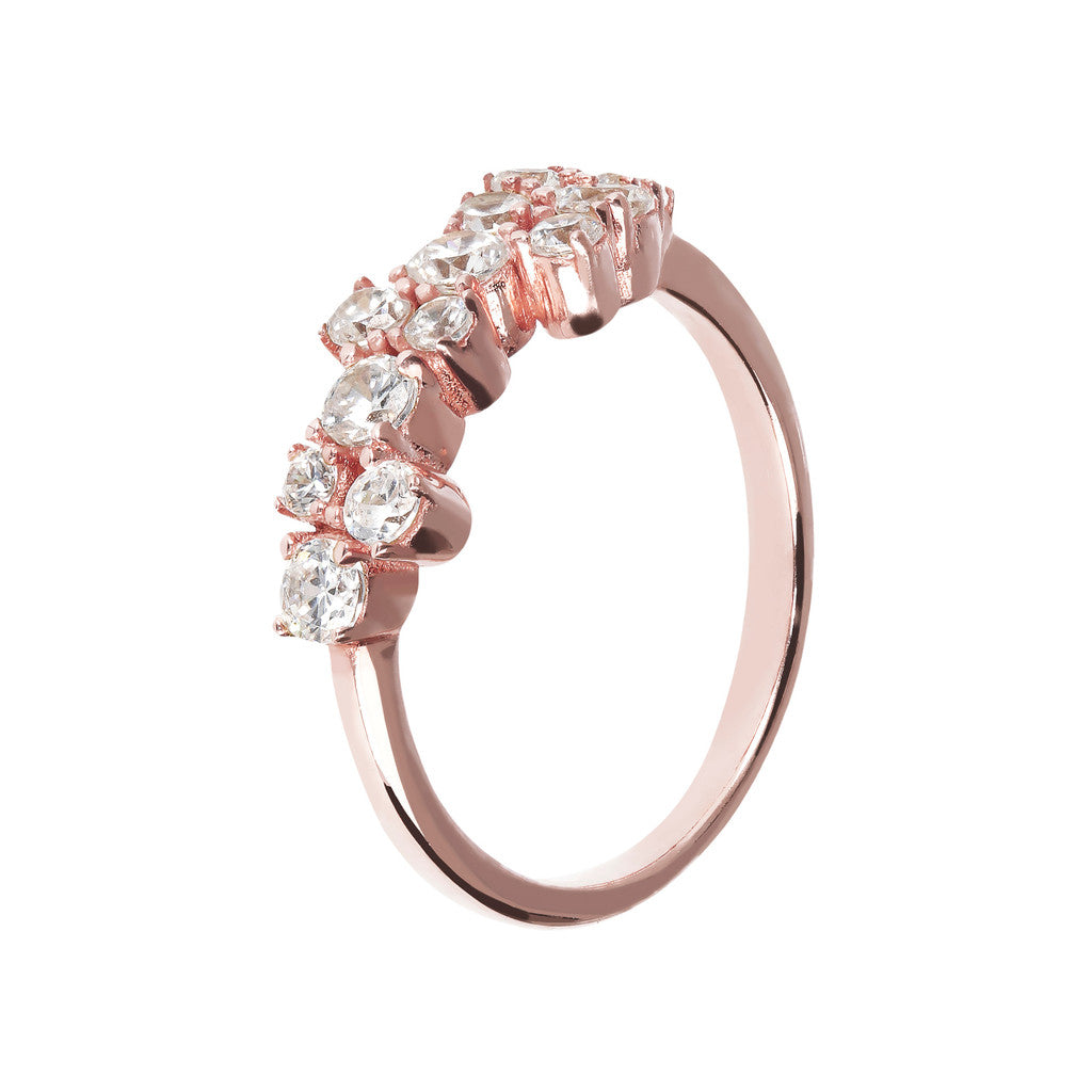 Fancy Cluster Ring