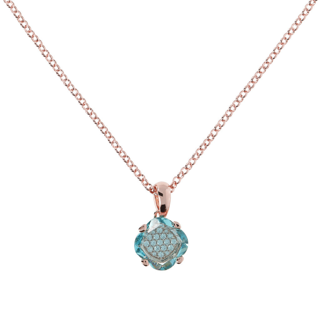 Fancy Rolo Pendant Necklace