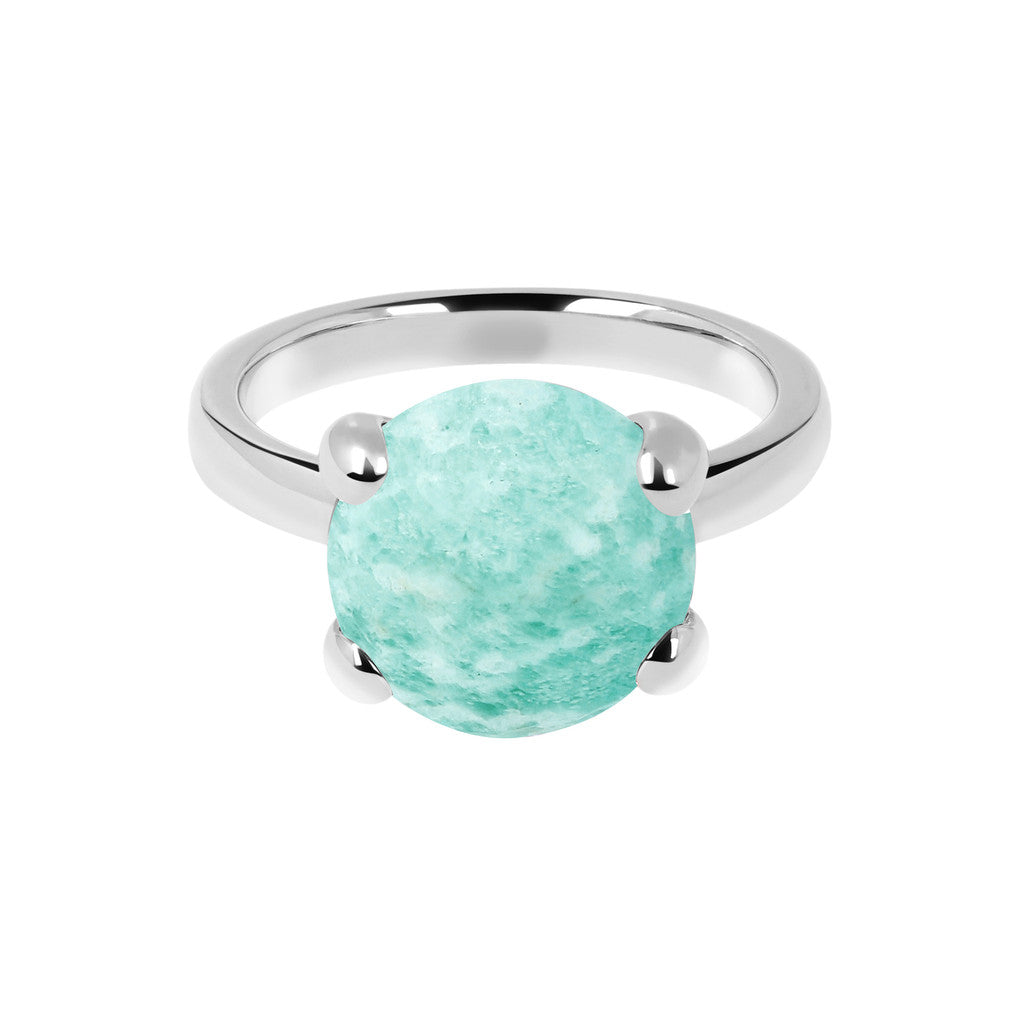 Felicia Cocktail Ring Luna setting