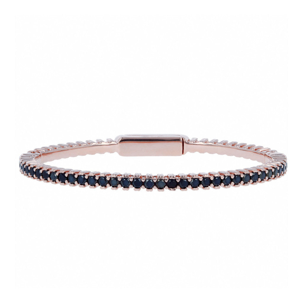Bronzallure | Bangles | Flexible Tennis Bangle