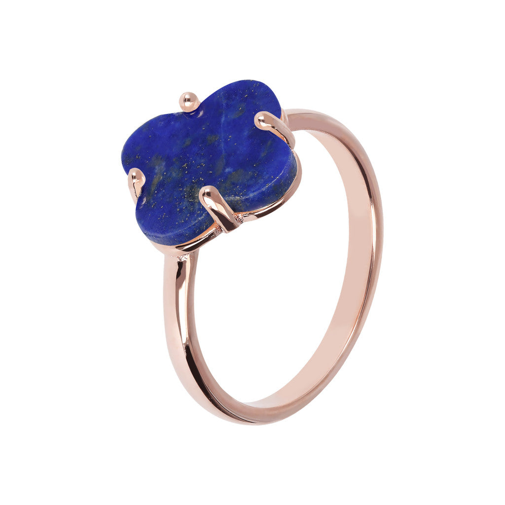 Four Leaf Clover Ring  LAPIS