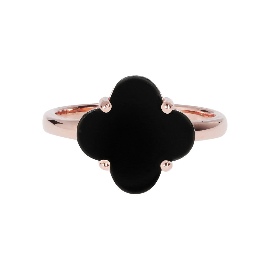 Four Leaf Clover Ring  setting