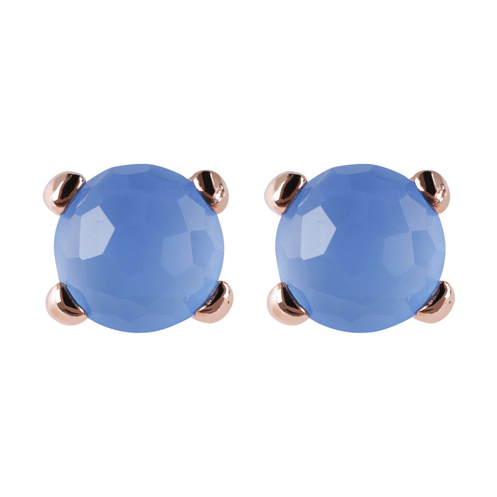 Gemstone Stud Earrings Small