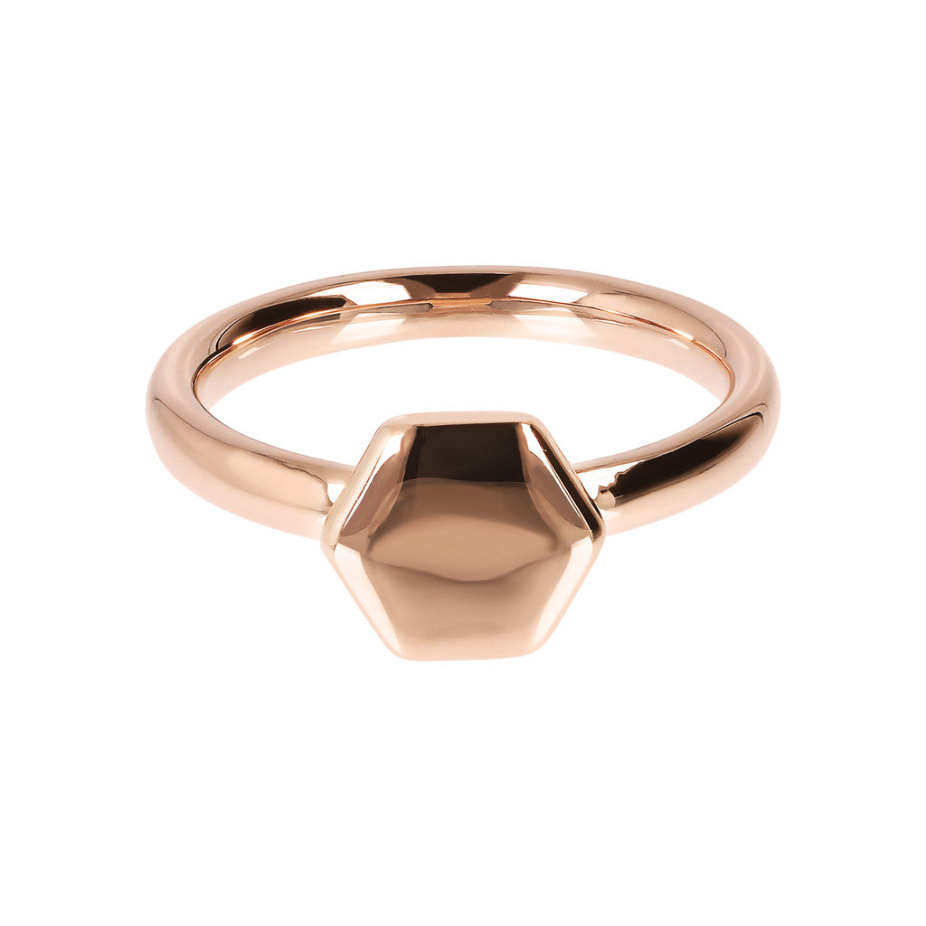 Hexagonal Ring setting