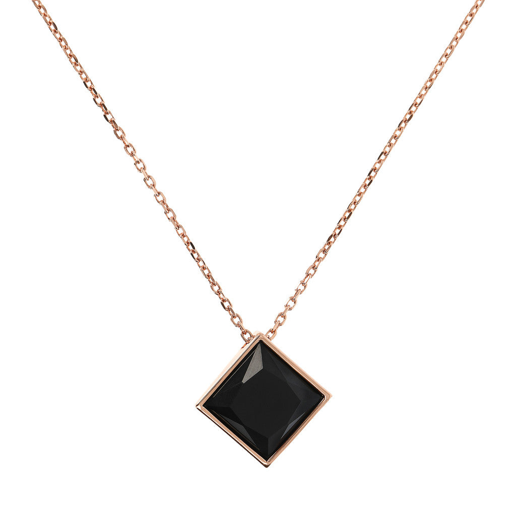 Incanto Square Pendant Necklace