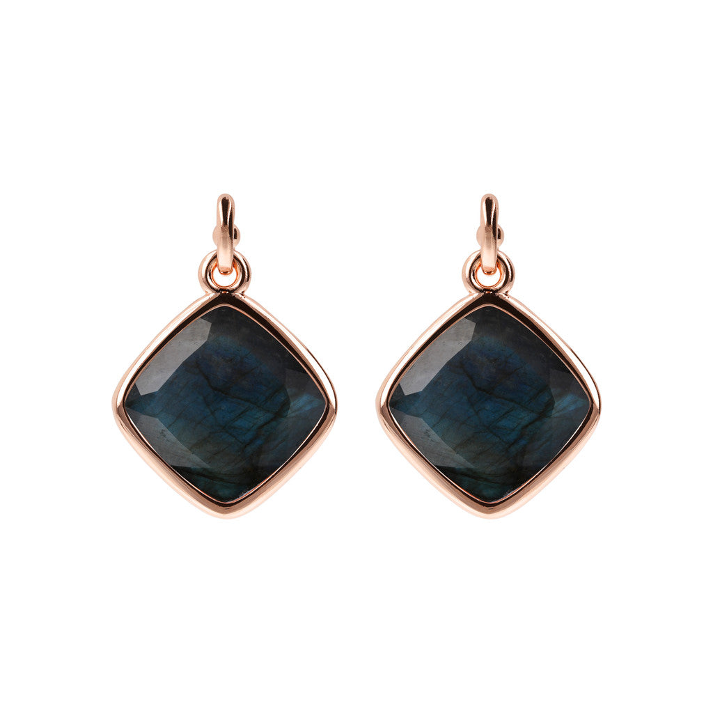 Incanto Rhombus Shape Earrings LABRADORITE