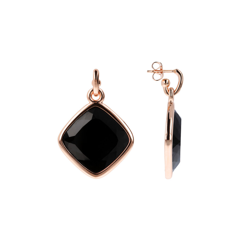 Incanto Rhombus Shape Earrings front and side
