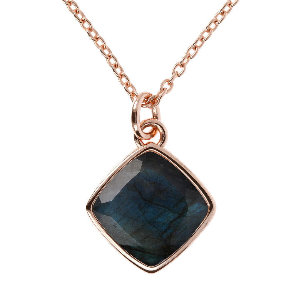 Incanto Rhombus Shape Necklace LABRADORITE