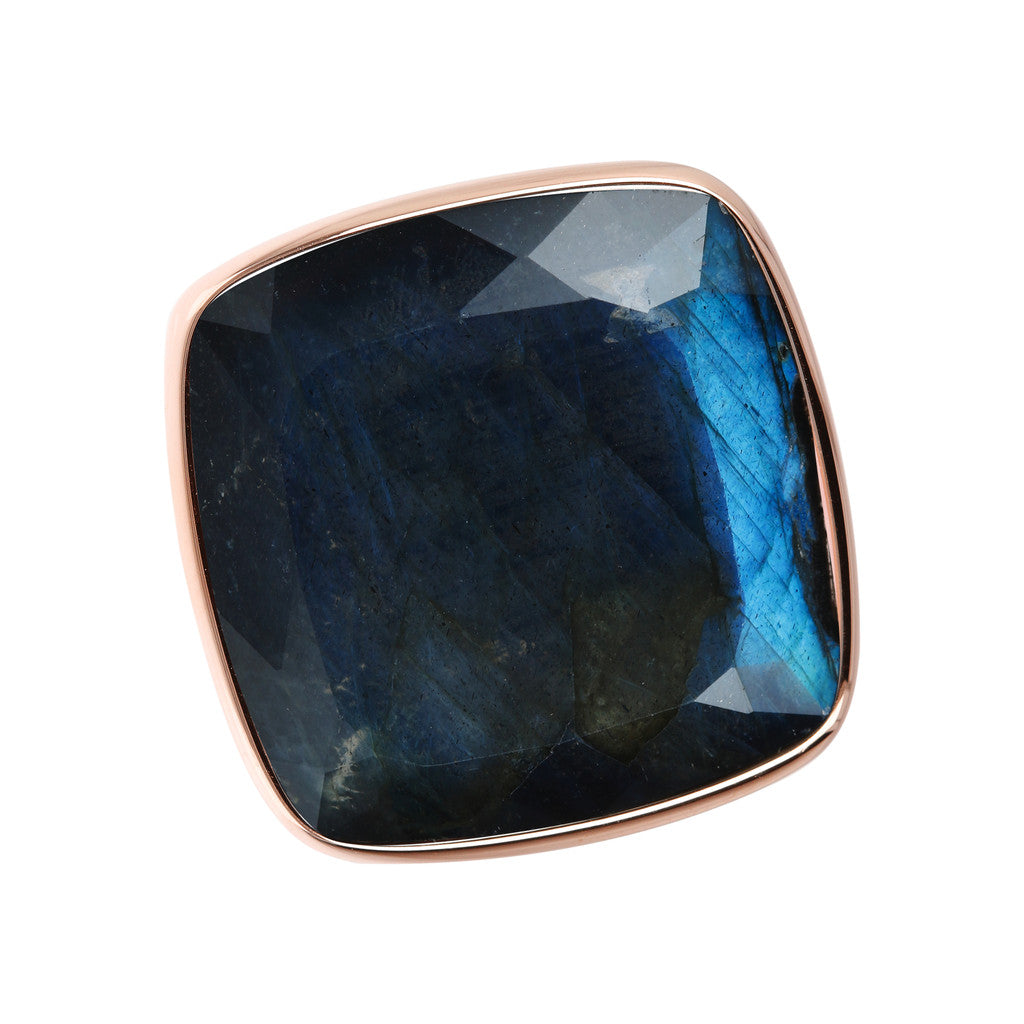 Incanto Rhombus Shape Ring  LABRADORITE setting