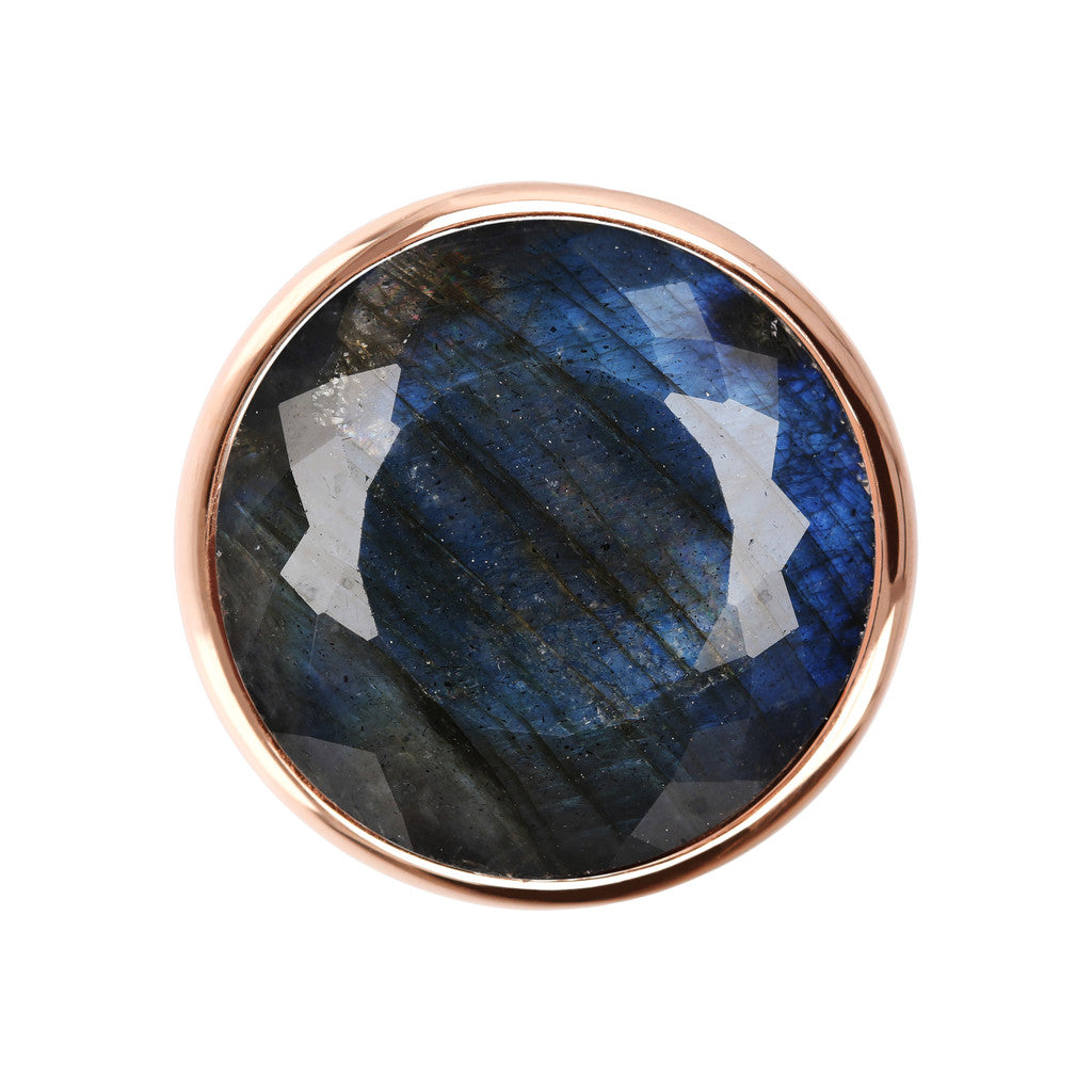 Incanto Round Shape Ring  LABRADORITE setting