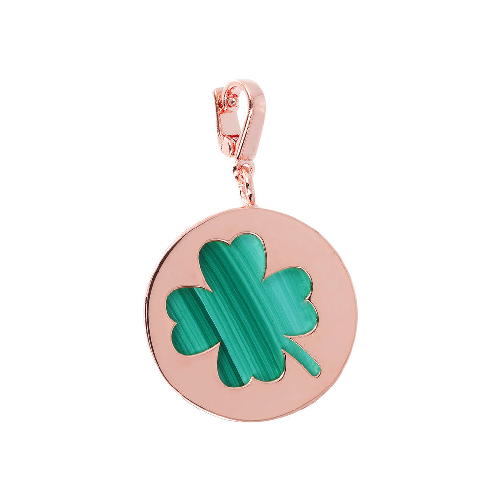 Bronzallure | Charms | Lucky Token Clover Charm