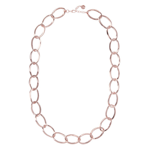 Large chain link necklace