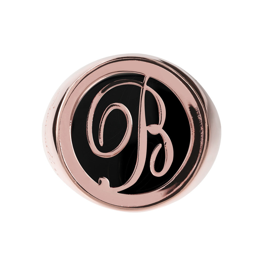 Letter Signet Ring  setting