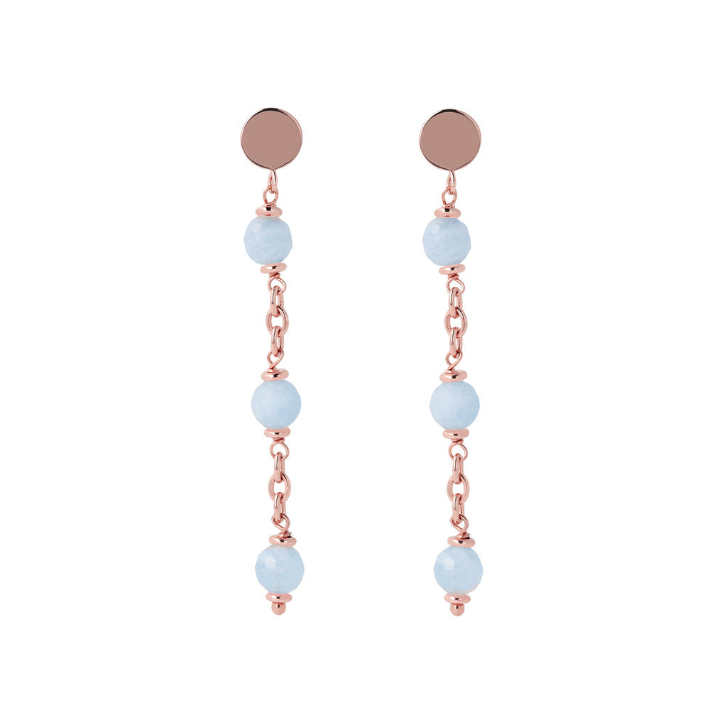 Longuette Earrings Natural Gemstone
