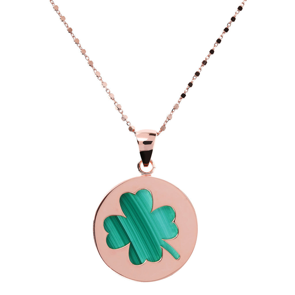Lucky Token Clover Necklace