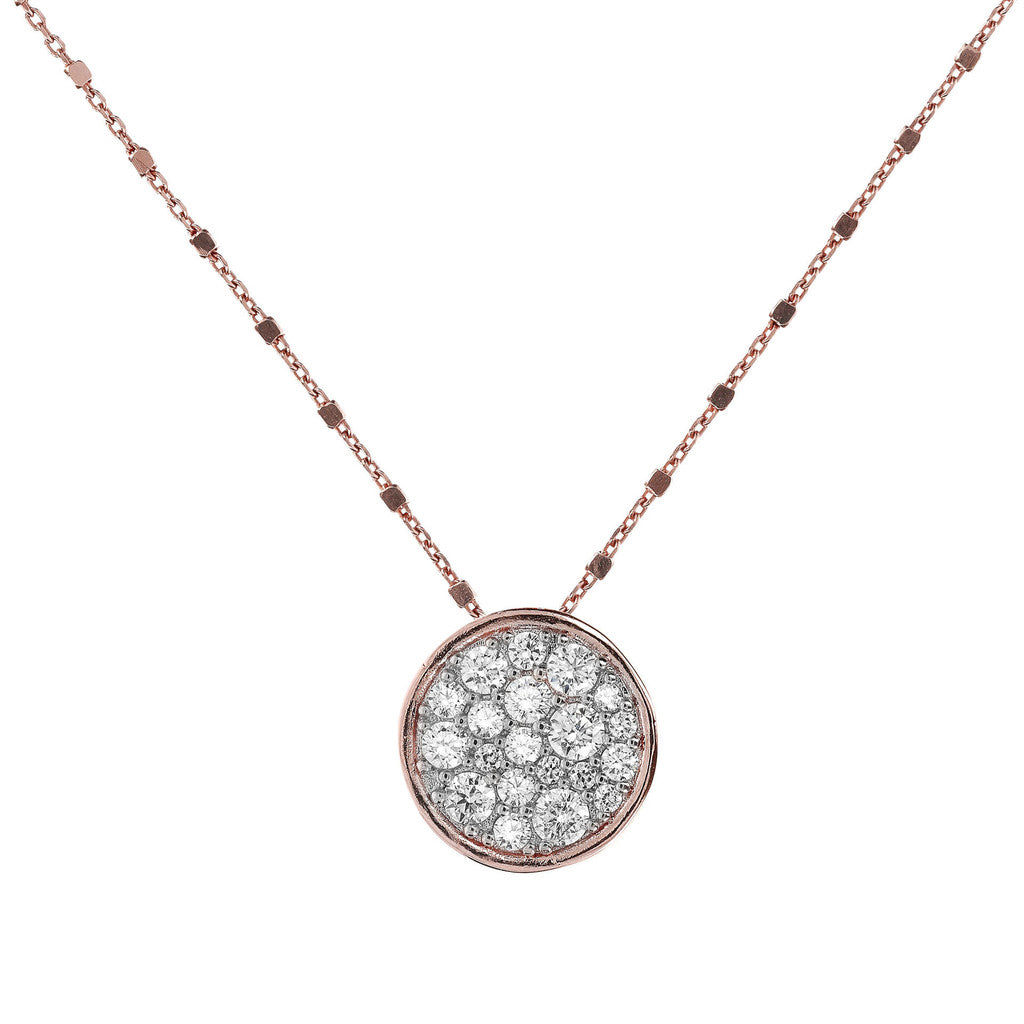 Micro Pave Necklace CUBIC ZIRCONIA