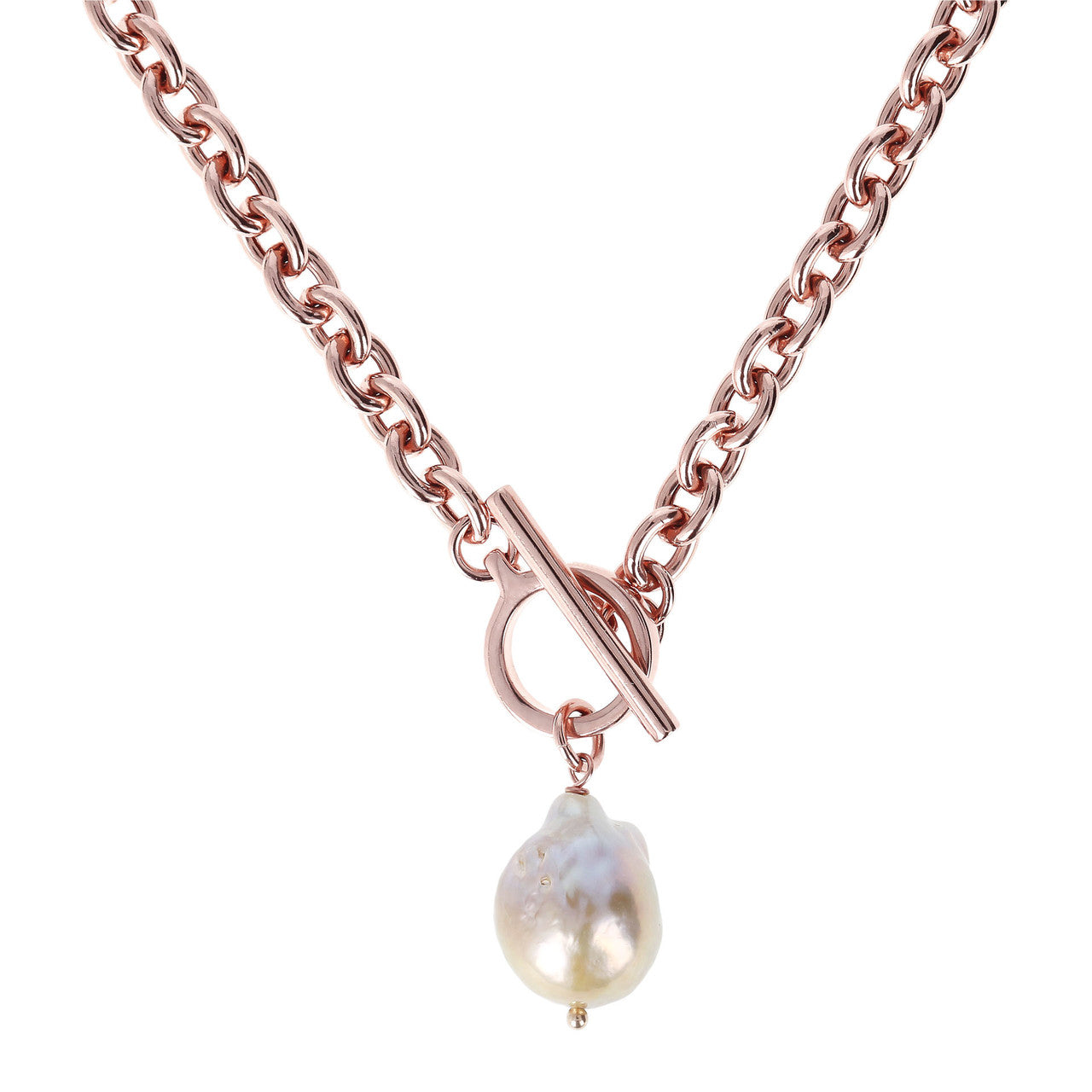 Ming Pearls Rolo Necklace