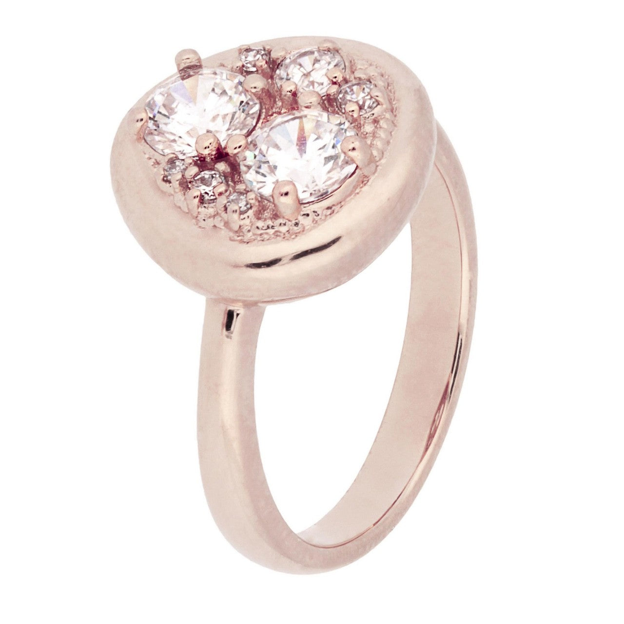 Moon Ring CUBIC ZIRCONIA