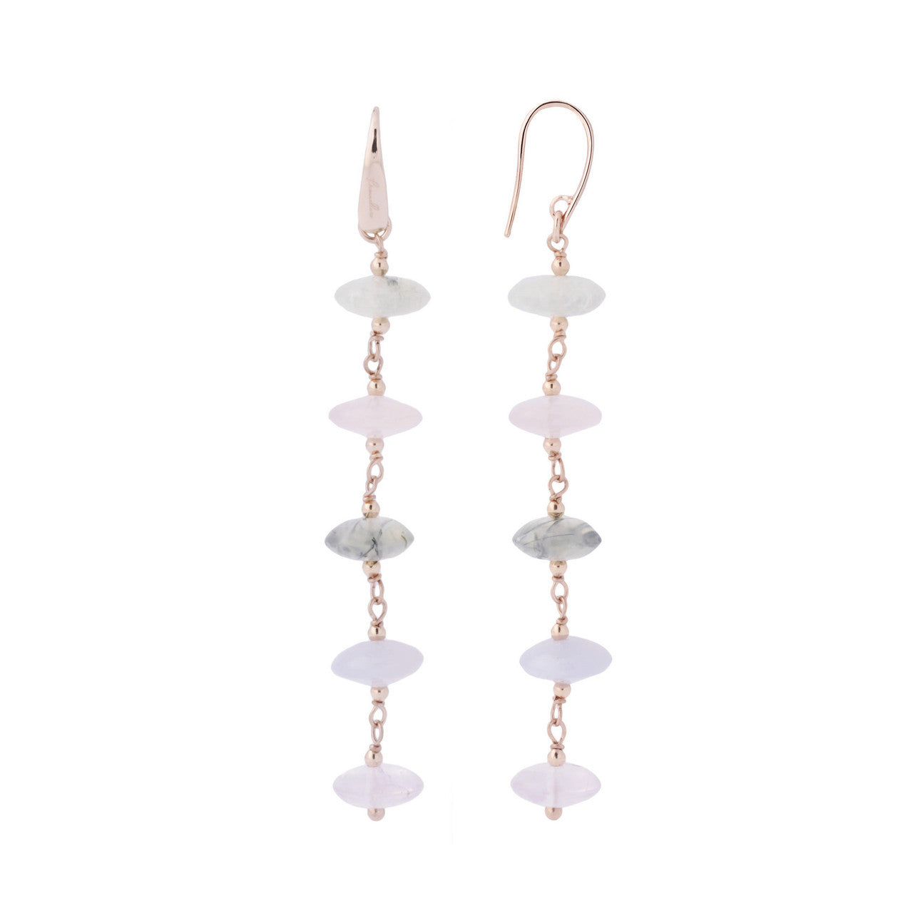 stone riah fashion earrings earring products natural dangling