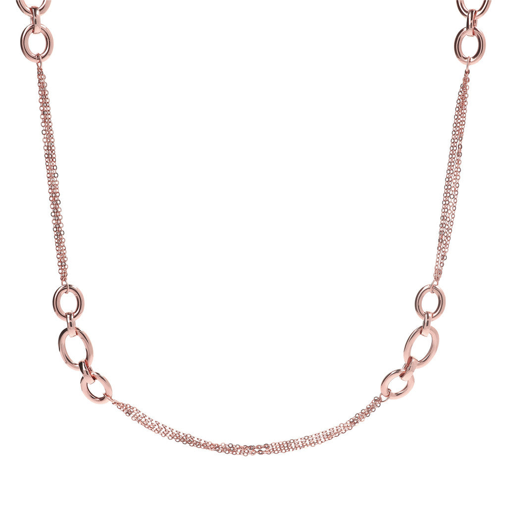 Oval Forzatina Link Necklace