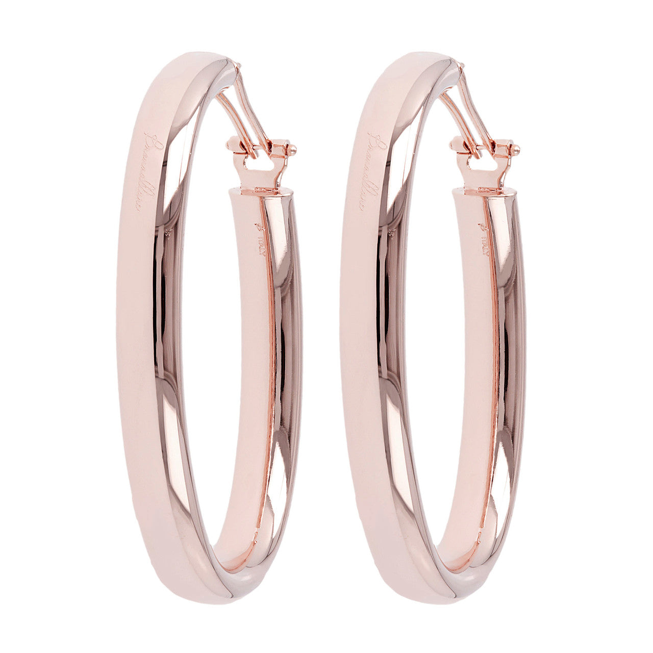 Oval hoop earrings 7fd2142a9d380