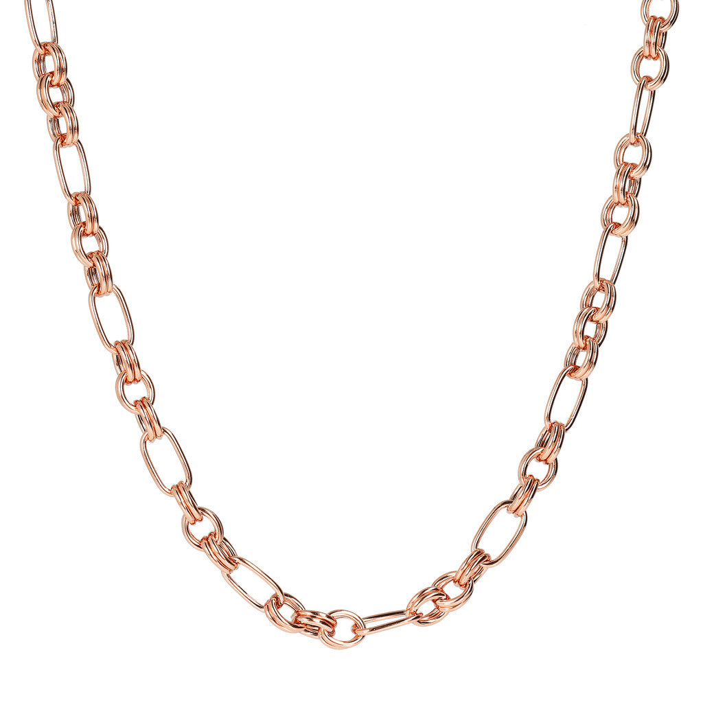 Alternate Oval Chain Necklace
