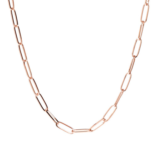 Bronzallure | Necklaces | Necklace with Elongated Light Chain