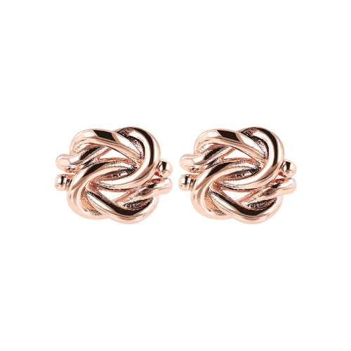 Bronzallure | Earrings | Knot Stud Earrings