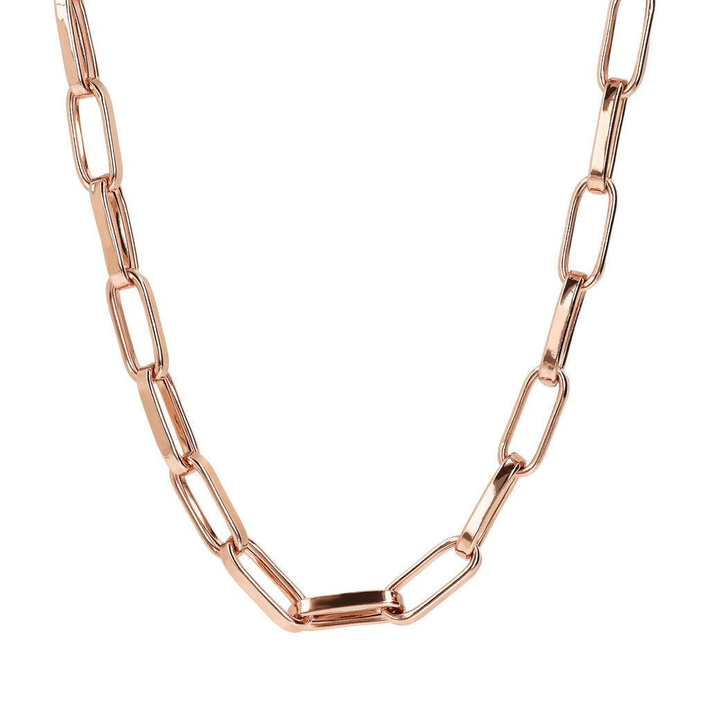 Elongated Link Necklace