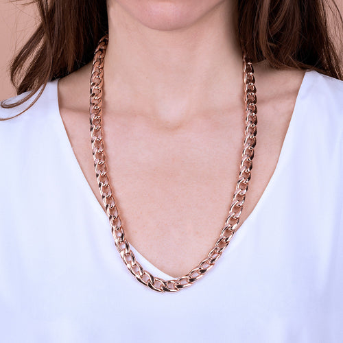 Bronzallure | Necklaces | Curb Chain Necklace