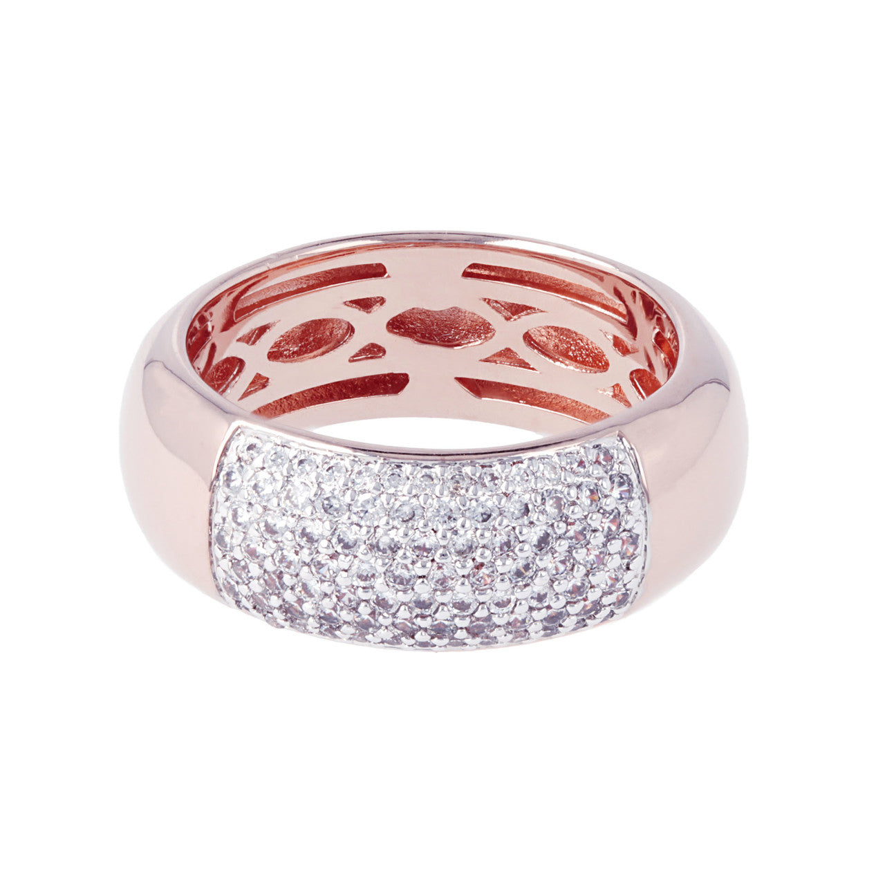 Pave Ring Band