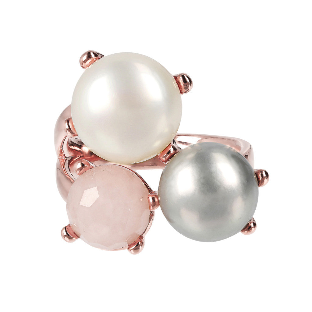 Pearl Cluster Ring setting