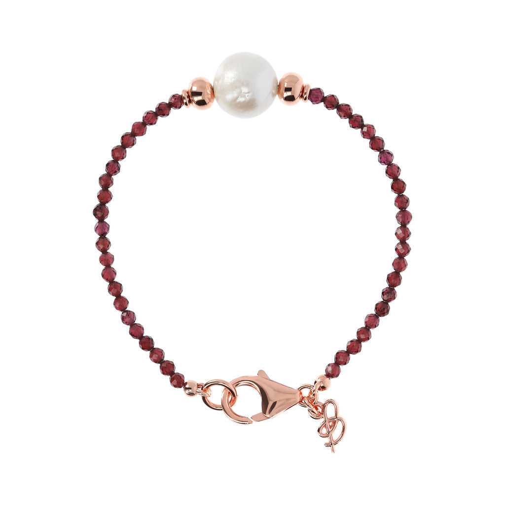 Pearl and Gemstones Bracelet
