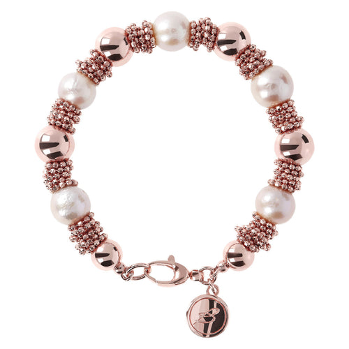 Pearls and Microbeads Bracelet
