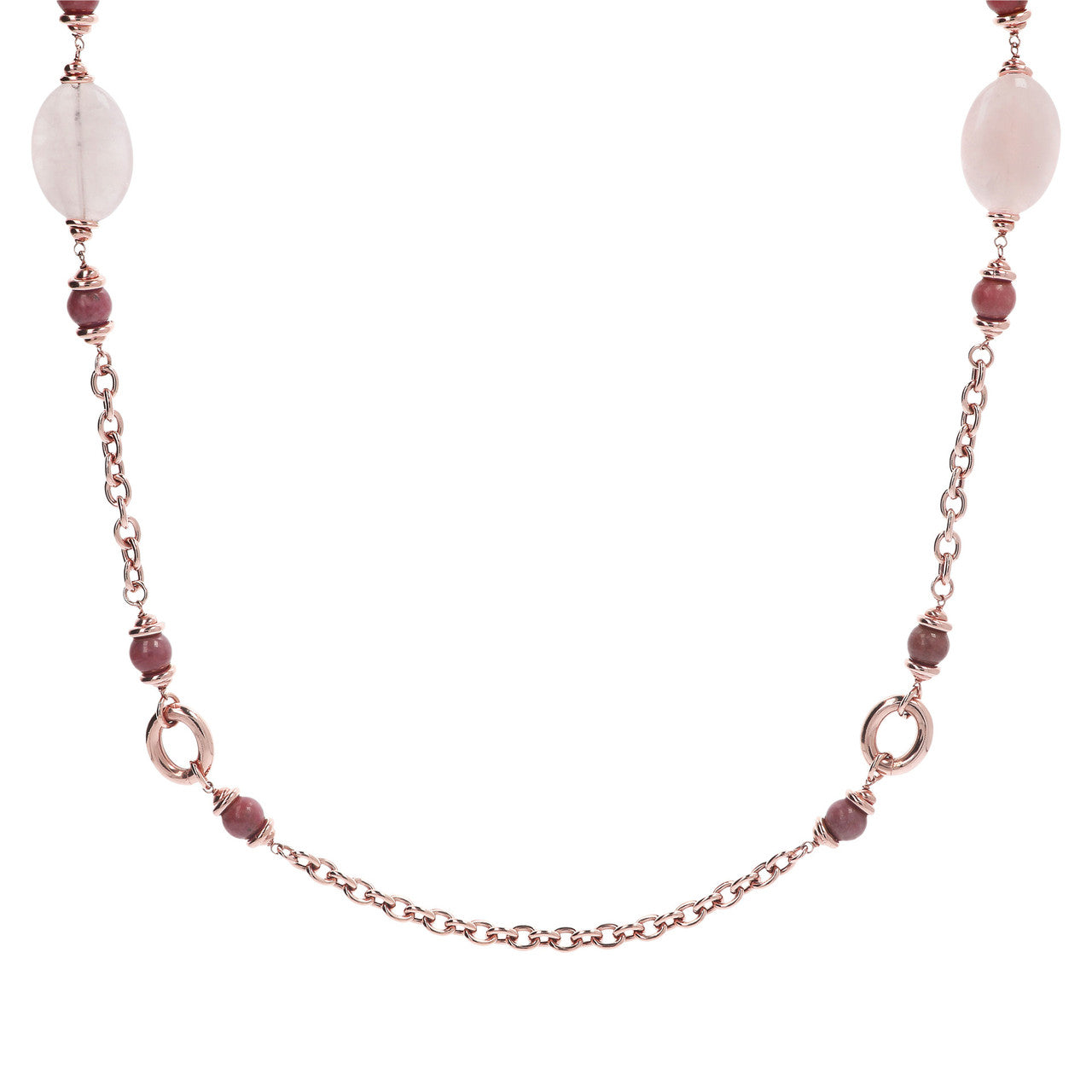 Pink Stationary Necklace
