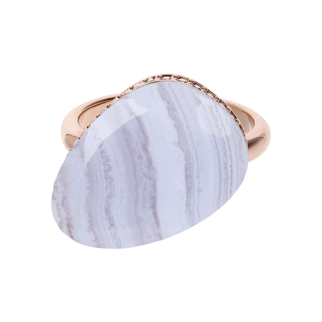 Preziosa Ring with Natural Stone setting
