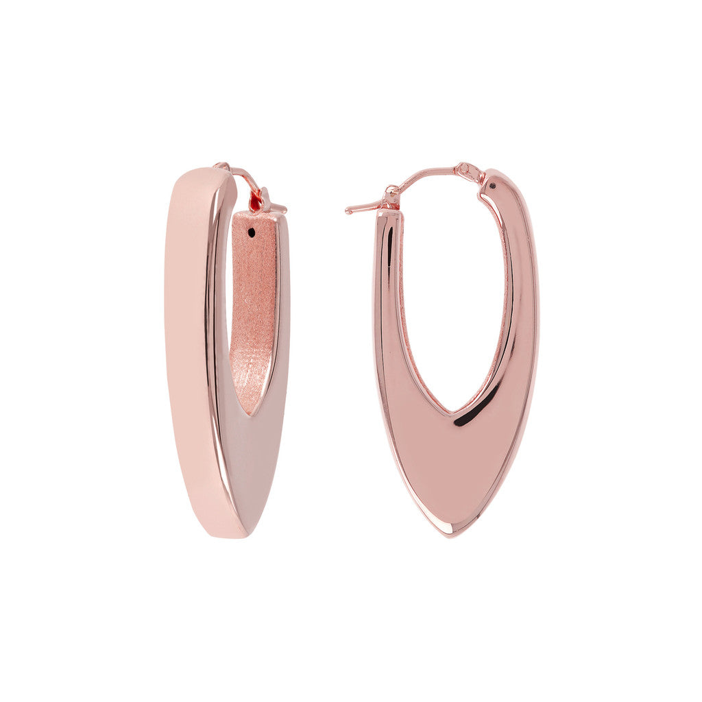 Electroform Hoop Earrings
