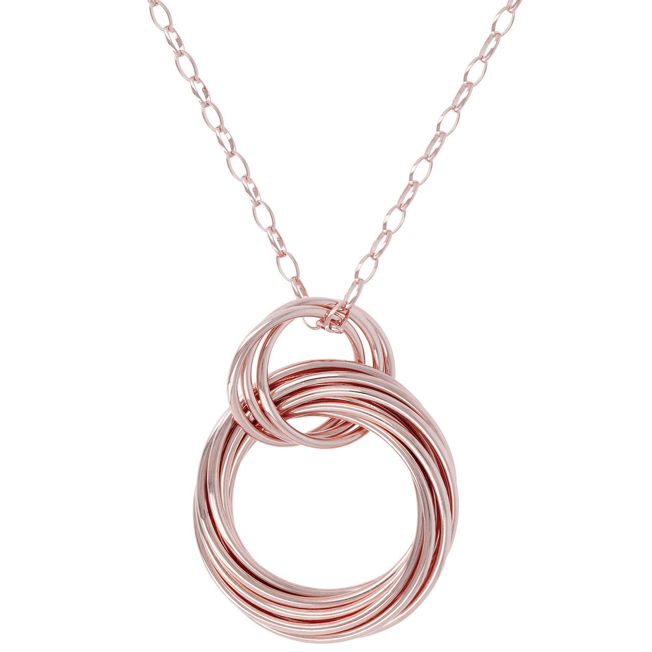 Purezza Textured Pendant Necklace